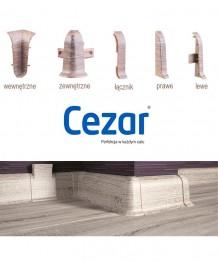 Akcesoria do listwy przypodłogowej CEZAR PREMIUM